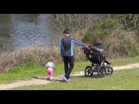 Outdoor walks, exercise helpful amid coronavirus pandemic