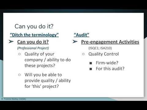 ISQC1 - Quality Control Basics