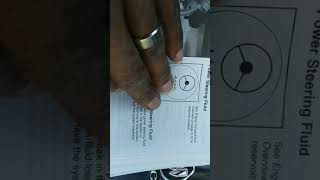 How and why to check 2006 Buick LaCrosse power steering fluid
