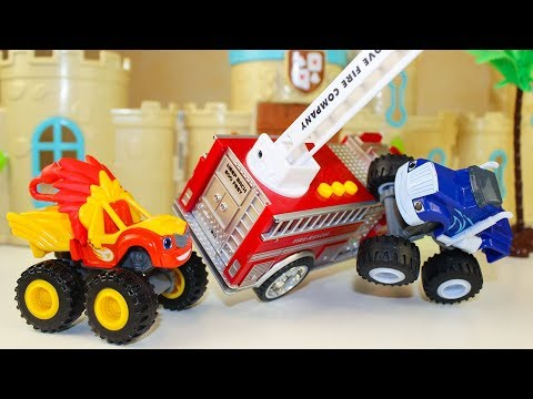 Мультики про машинки игрушки Вспыш и чудо машинки Крушила и Пожарная машина Мультфильмы для детей