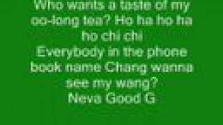New lyrics--- Chinese rap cky ( brandon dicamillo )