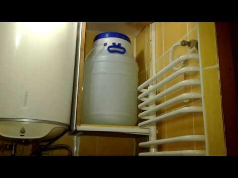 Как сделать запас воды в квартире , если воду отключили.