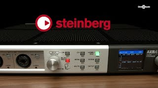 Steinberg AXR4T Thunderbolt 2 Audio Interface | Gear4music Overview