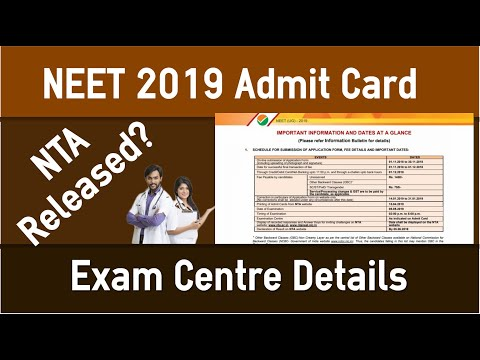 neet-2019-admit-card-released-today-by-nta?