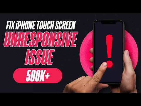 How to Fix iPhone Touch Screen Unresponsive Issue