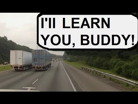 ✔️rubbing-is-trucking-part-1:-angry-trucker-tries-uses-truck-as-weapon.-instant-karma!!!!