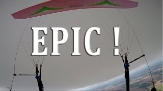 EPIC 150 KM PARAGLIDING FLIGHT HD - 100km/h MAX TOP SPEED - PART 1