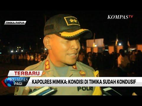 Polisi : Kota Timika Papua Kondusif!