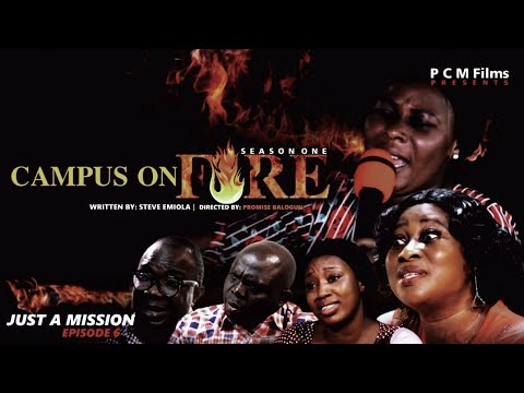 Download JUST A MISSION Ep 6 | Campus On Fire Series | PCM Films | #Directed by Promise Balogun