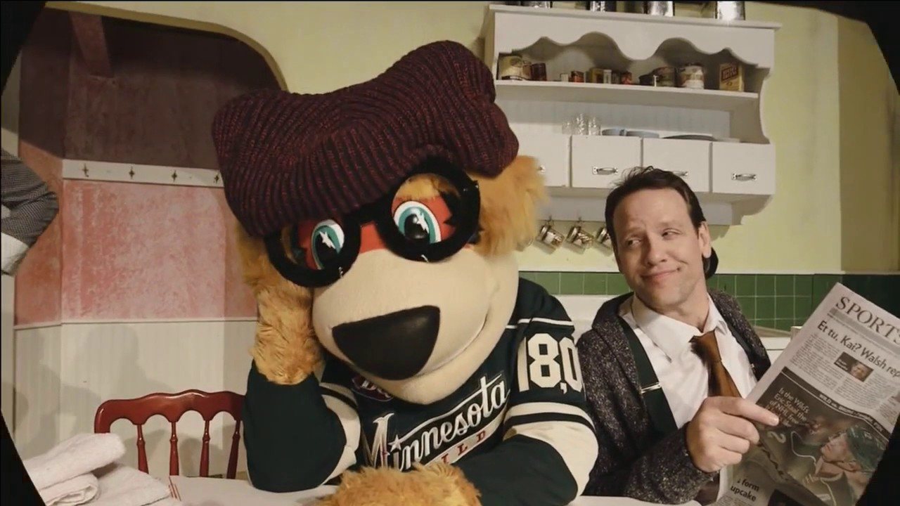 A Hockey Story - The Christmas wish for Minnesota Wild mascot Nordy