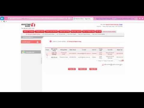 Hướng dẫn sử dụng Internet Banking DN tại  Maritime Bank