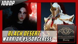 bdo pvp lvl60 warrior with grunil vs lvl 60 p2w sorceress with 2 7b