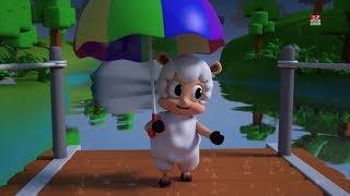Hujan hujan pergilah lagu pendidikan sajak pembibitan Preschool Songs Rain Rain Go Away Songs