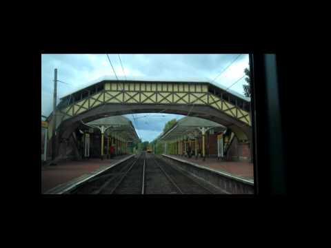 Tyne and Wear metro along the coast
