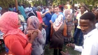 حفلة سوكن في مستشفي نيالا التركي