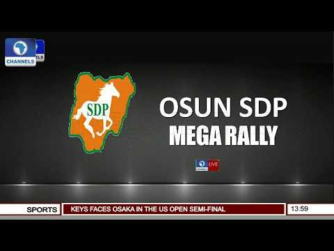 Omisore Woos Residents As SDP Holds Mega Rally In Osun Pt.1 |Live Event| thumbnail