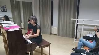"Öğrecimizden ""F. Chopin - Prelude op.28 no.15"" Performansı"