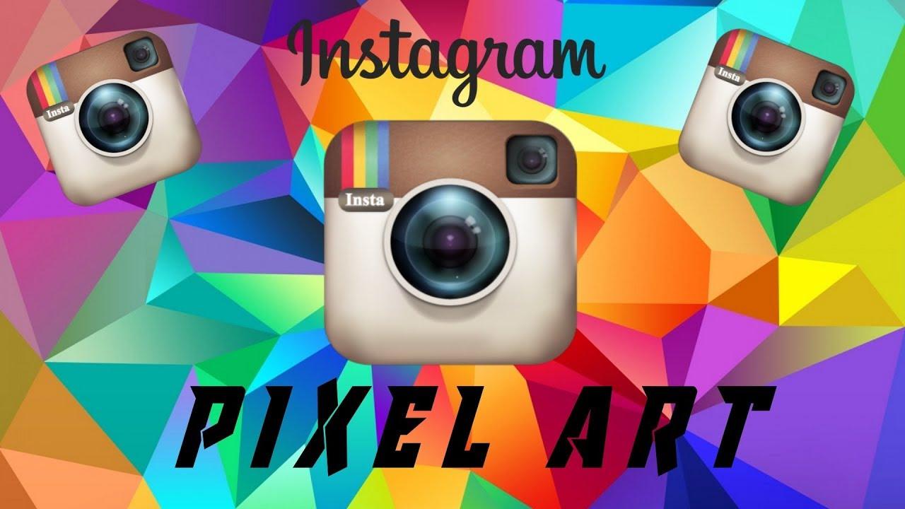 Instagramold Instagram Logo Pixel Art Minecraft Speed Up