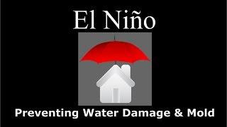 El Niño  - Preventing Water Damage & Mold