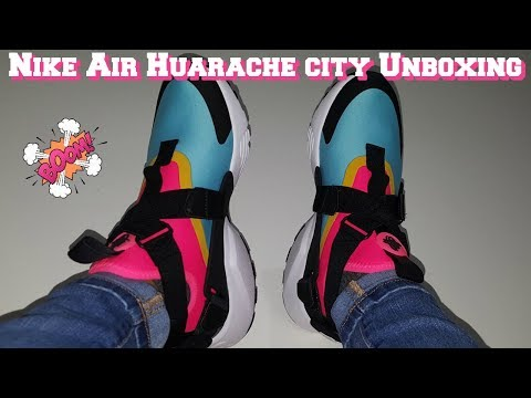 ec882a57534 Womens Huarache City Unboxing - YouTube