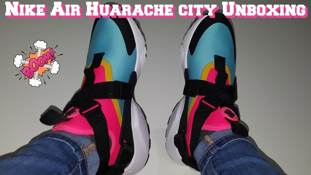de20cfede0d Womens Huarache City Unboxing