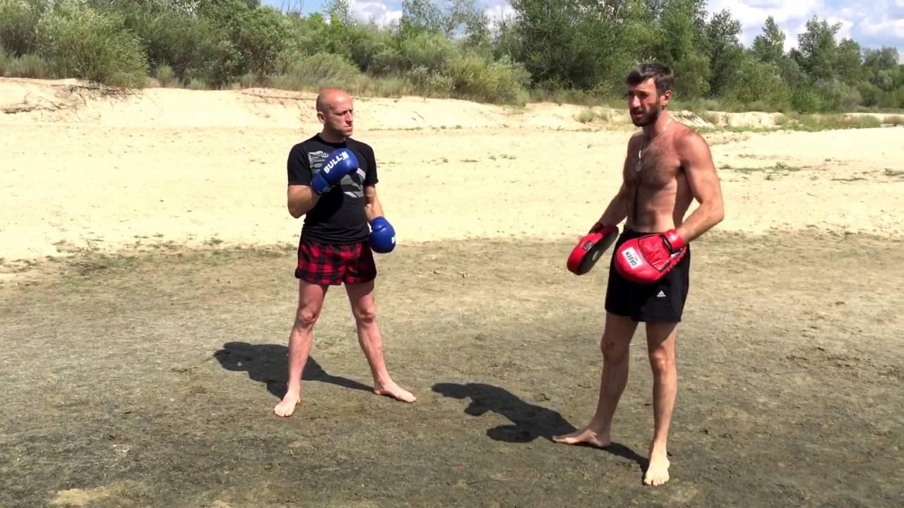 Уроки самообороны для начинающих! Бокс обучение