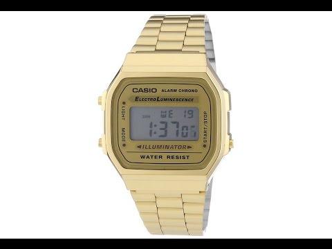7aa78a99589a Casio y su modelos de relojes retro - YouTube