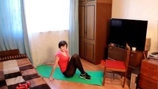 Первая тренировка, направленная на похудение