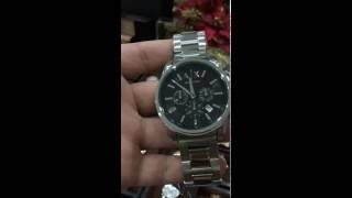 Armani Exchange Unisex AX2084 Stainless Steel Watch