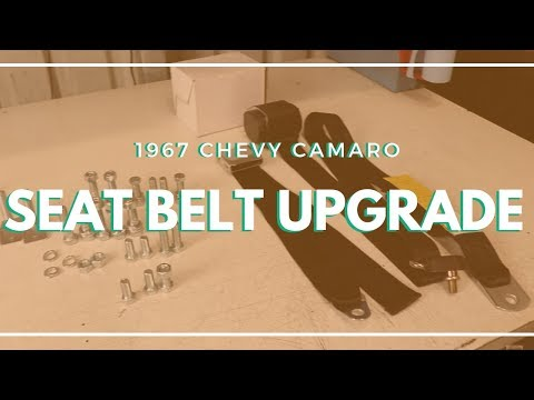 Modern Seat Belts For Muscle Cars | Retractable Seat Belt Upgrade & Install