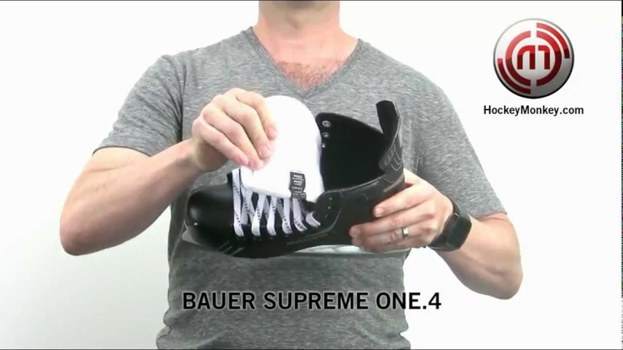 591fc1d948d Bauer Supreme One.4 Skates - YouTube