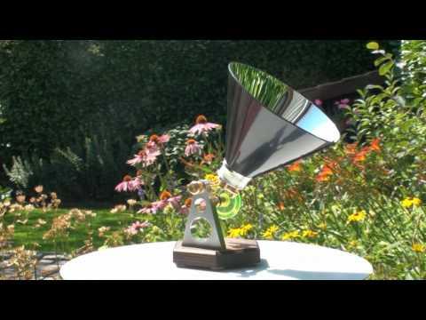 "Solar miniature  Stirling LTD engine "" Kruimeltje "" as "" SUNNY-03 """