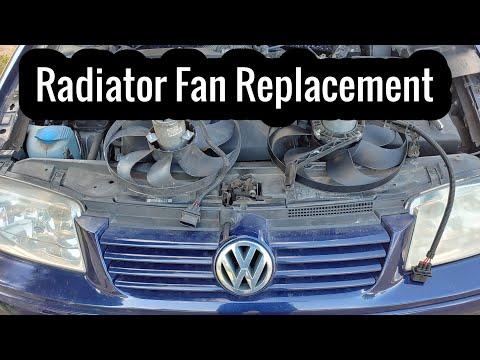 jetta fan not working? How to replace a radiator fan in a 2002 Volkswagen Jetta wagon 2.0 engine mk4