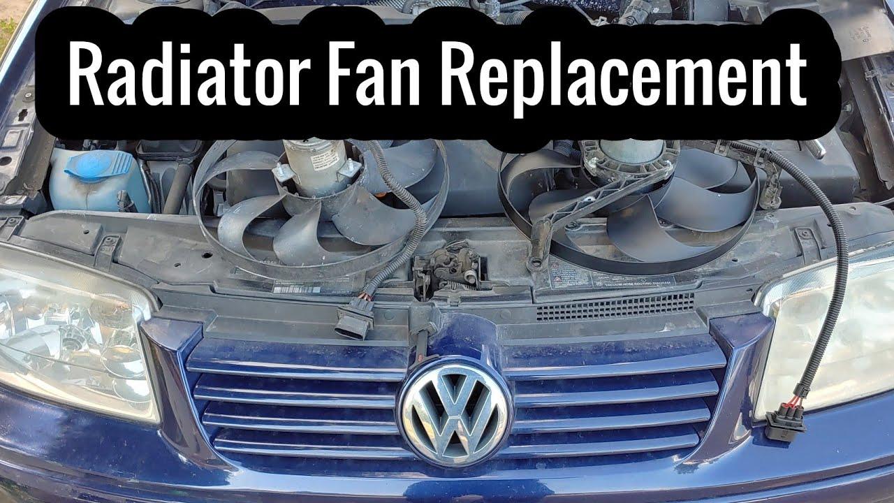 Jetta Fan Not Working  How To Replace A Radiator Fan In A 2002 Volkswagen Jetta Wagon 2 0 Engine