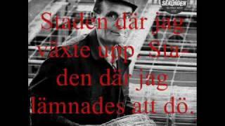 Sista Sekunden - Min Stad (w/ lyrics)