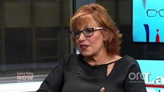 Joy Behar: Candace Cameron Bure is Not a Subsute Elisabeth Hasselback   Larry King Now   Ora.TV