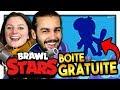 On Pack Ce Brawler Dans Une Boite Gratuite  |pack Opening Brawl Stars Co-op Fr