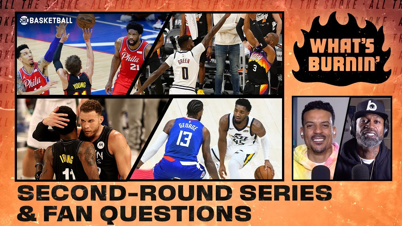 1st Round Recap, Nets, Jazz vs. Clippers, Fan Questions | WHAT'S BURNIN | SHOWTIME Basketball