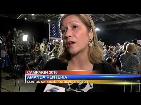 Hillary Clinton in Tampa - 11pm Report