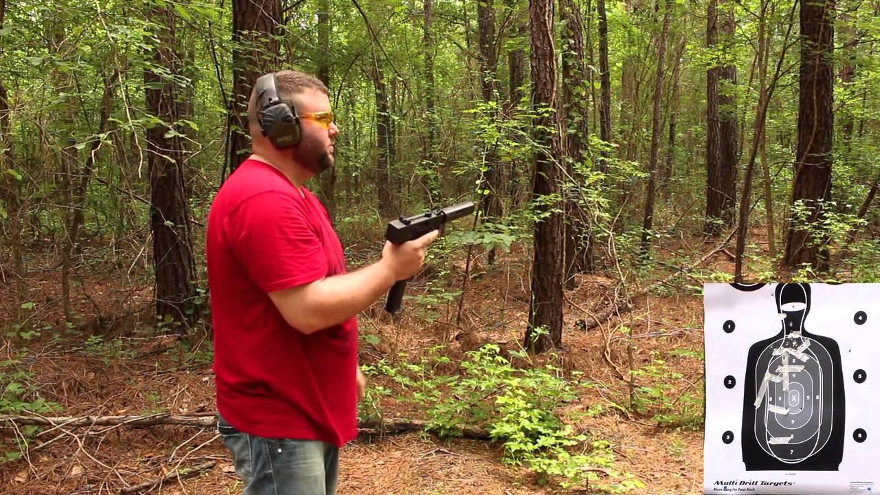 Masterpiece Arms 9mm pistol