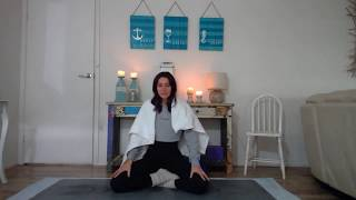 MORNING BREATH MEDITATION with Katie Pietsch, Peaches Yoga