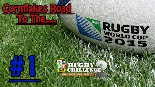 Rugby Challenge 2 - Cornflakes Road To The World Cup #1
