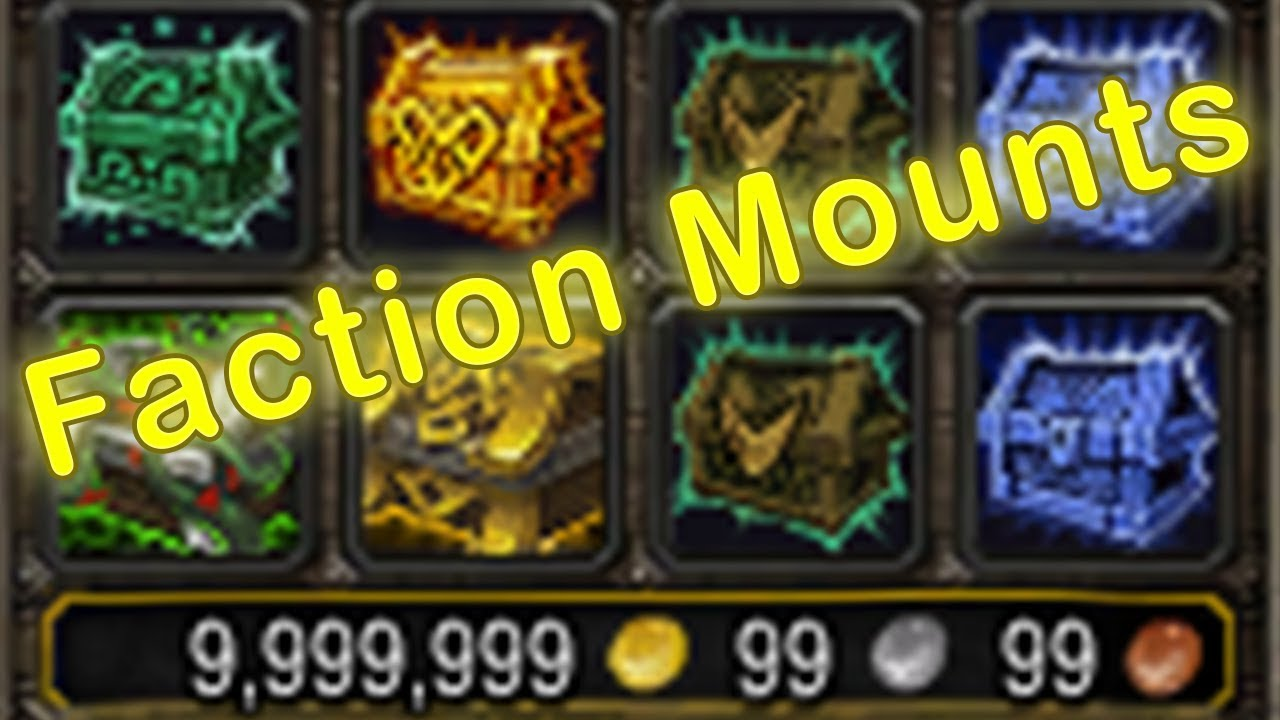 Faction Mounts Drop!?!? - WoW Paragon Chest Opening #12   Paragon Caches  Opening   WoW Legion 7 3 5