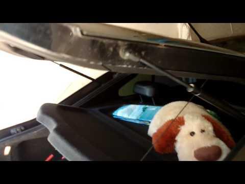 Усиленный амортизатор крышки багажника skoda