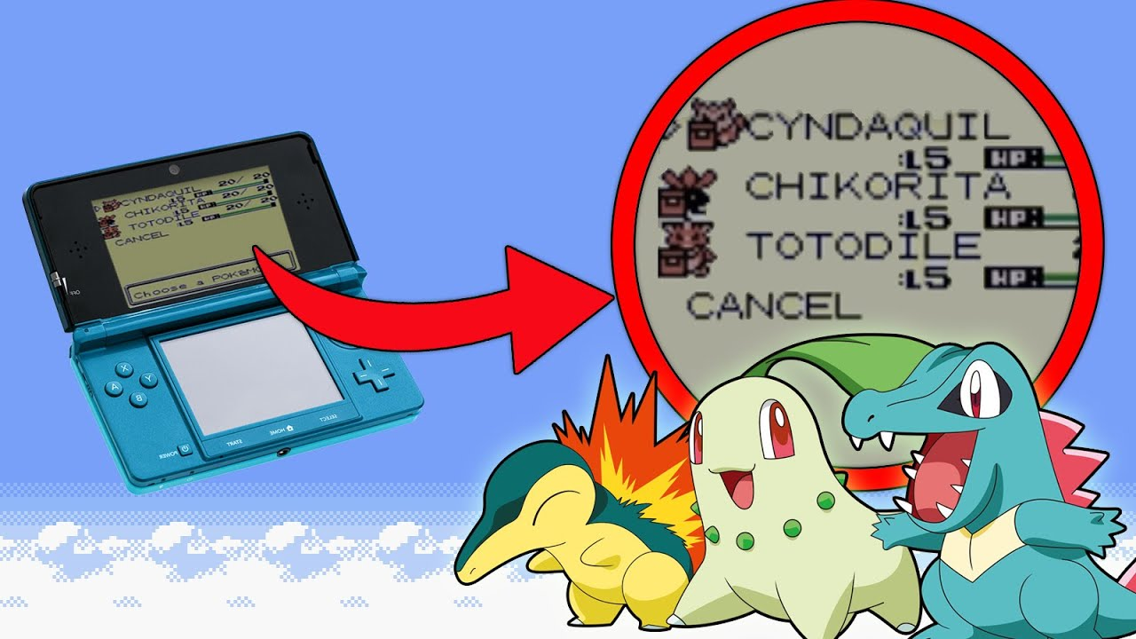 Pokemon Crystal 3DS (VC): How to get all 3 Johto Starters without Trading!