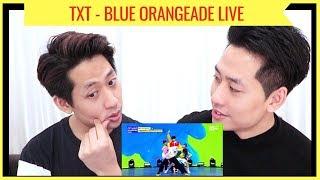 Gambar cover TXT 'BLUE ORANGEADE' LIVE REACTION (투모로우바이투게더)