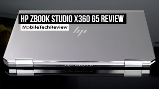 HP ZBook Studio X360 G5 Review
