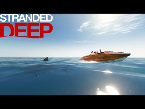 stranded deep лодка