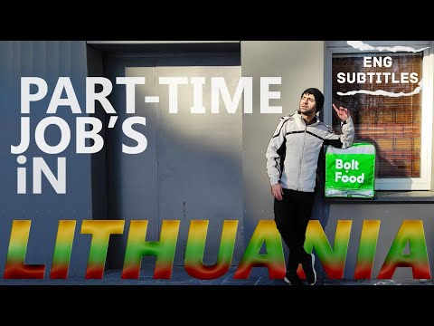 PART-TIME JOB'S IN LITHUANIA FOR STUDENT'S AND HOW TO FIND THEM? ||ENG-SUBTITLE'S