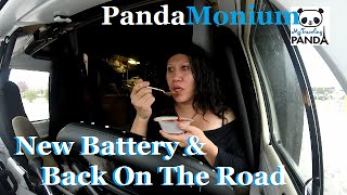 rv living vlog new battery headed back to myrtle beach south carolina